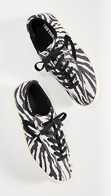 Tretorn Nylite 37 Plus Lace Up Sneakers