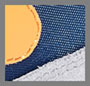 Stone Blue/Oltremare/Marigold