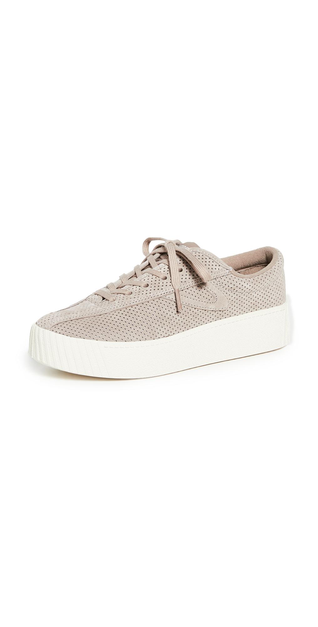 Tretorn Nylite Bold Platform Nubuck Sneakers