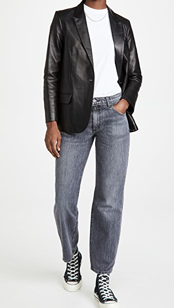 Triarchy Mid Rise Straight Leg Jeans