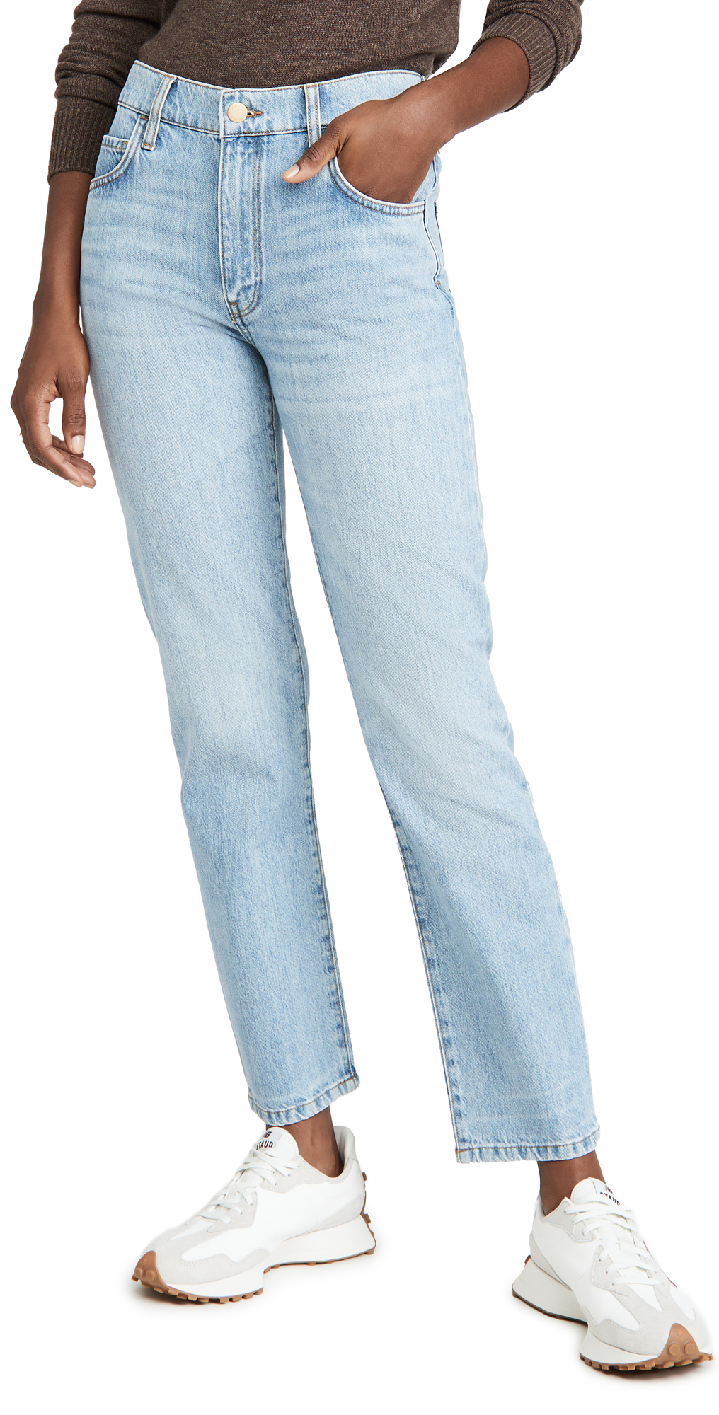 Triarchy Mid Rise Tapered Leg Jeans