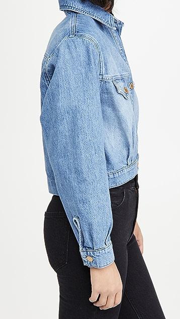 Triarchy Cropped Denim Jacket