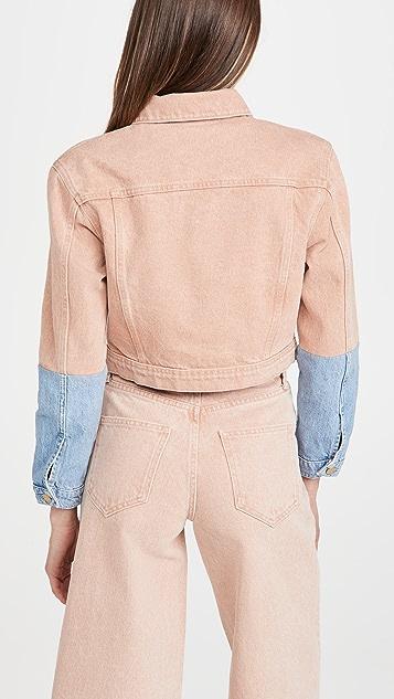 Triarchy 双色短版夹克