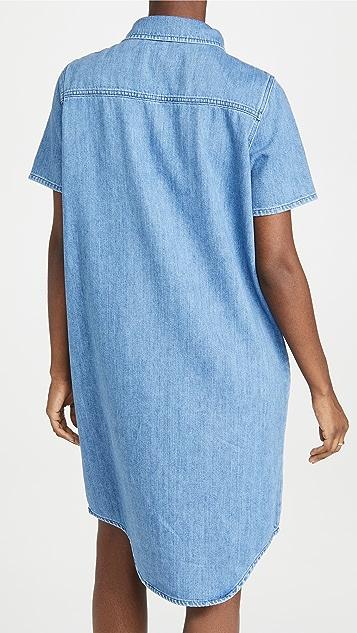 Triarchy 短袖衬衣连衣裙