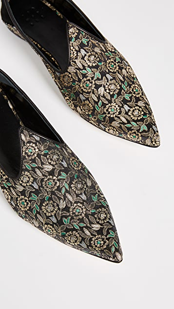 Trademark Lewitt Brocade Slippers