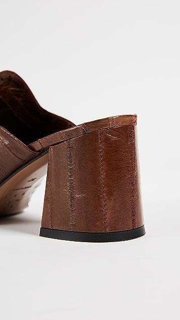 Trademark Frances Heeled Mules