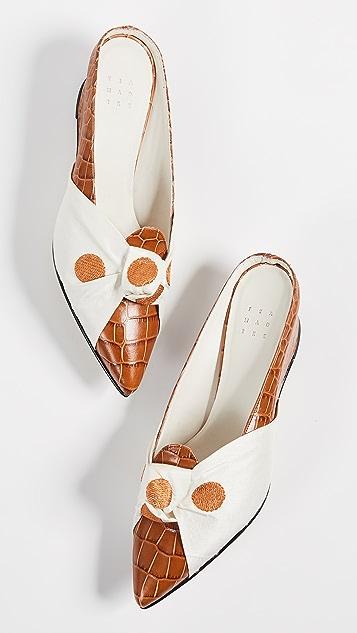 Trademark Adrien Tie Mules