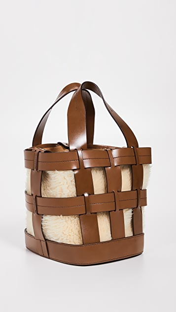 Trademark Cooper Shearling Cage Tote