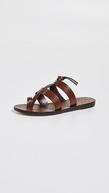 Trademark Capra Toe Ring Sandals