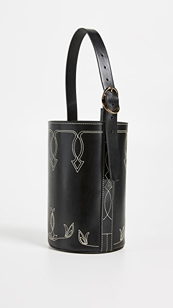 Trademark Small Western Bucket Bag