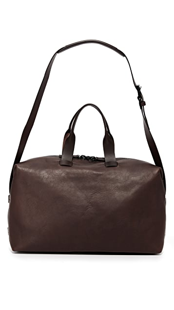 Troubadour Leather Weekender