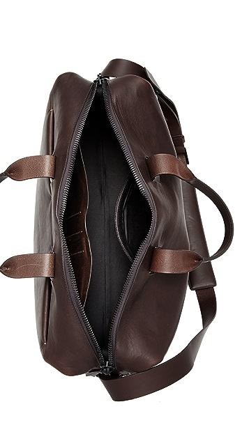 Troubadour Leather Weekender