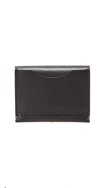 Troubadour Leather Card Wallet