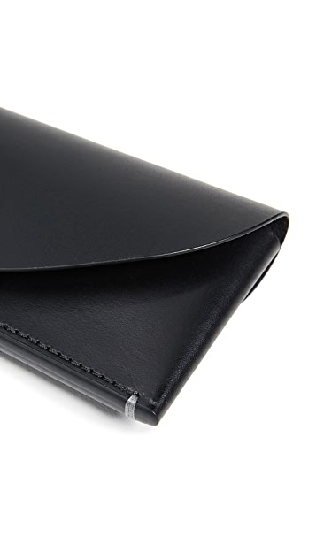 Troubadour Leather Business Card Holder