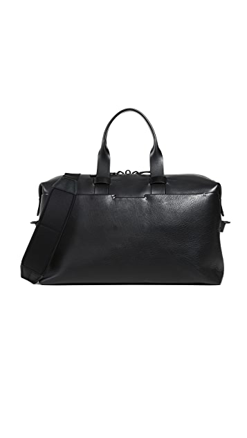 Troubadour Leather Weekender Bag