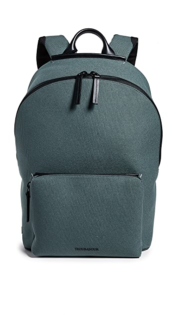 Troubadour Canvas Zip Top Rucksack