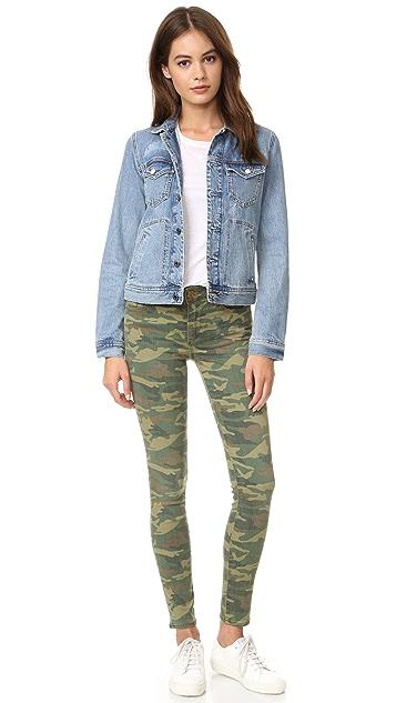 True Religion Halle Mid Rise Super Skinny Jeans