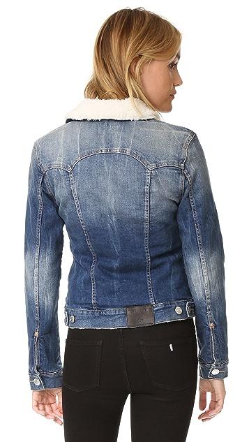 True Religion Western Dusty Trucker Denim Jacket