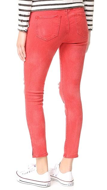 True Religion Runway Legging Crop Jeans