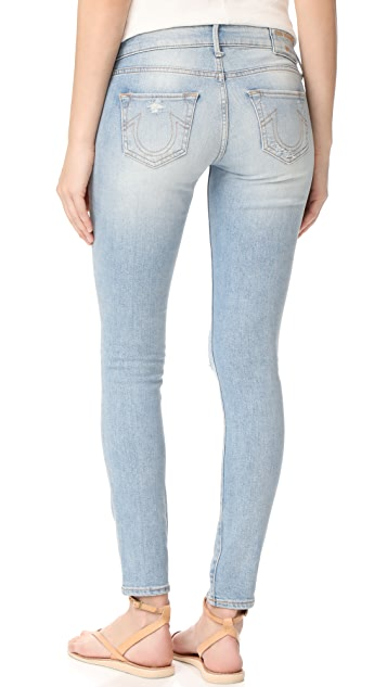 True Religion Casey Low Rise Super Skinny Jeans
