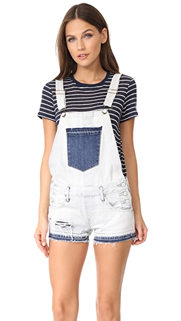 True Religion Shortalls