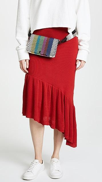 Truss Embellished Fanny Pack