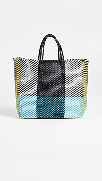 Truss Medium Tote Bag with Interior Leather Pocket