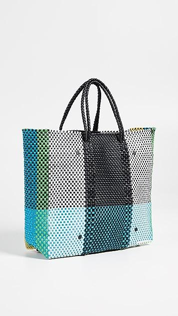 Truss Medium Tote Bag with Interior Leather Pocket
