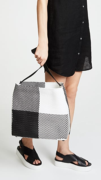 Truss Medium Handwoven Shoulder Bag