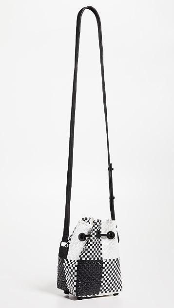 Truss Mini Handwoven Bucket Bag