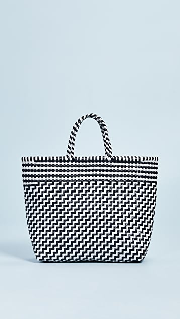Truss Medium Handwoven Tote Bag