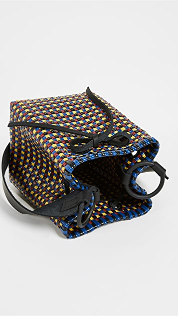 Truss Medium Square Bucket Bag