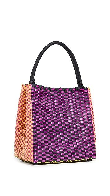 Truss Medium Top Handle Handbag