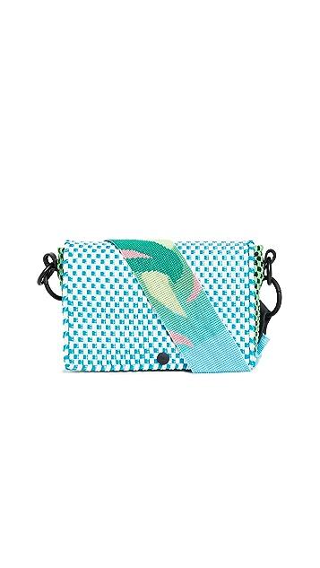 Truss Прямоугольная сумка с ремешком с бусинами