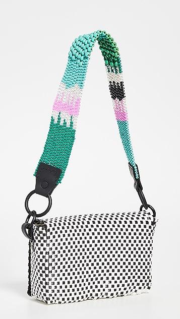 Truss 珠饰固定带长方形大号珠饰