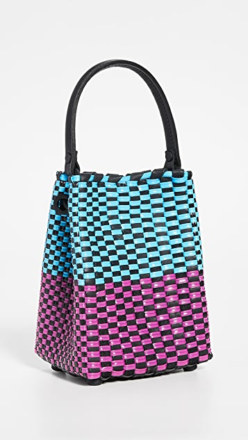 Truss Small Top Handle Bag