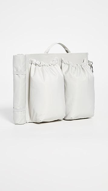 Объемная сумка с короткими ручками Savvy Миниатюрная объемная сумка-органайзер с короткими ручками
