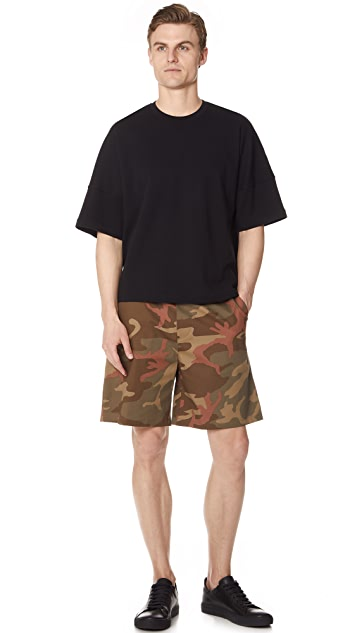 The Silted Company Tropic Camo Shorts