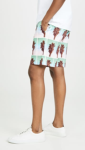 The Silted Company Palm Coffin Shorts