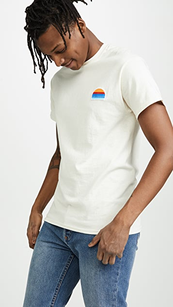 The Silted Company Sunset Patch Tee