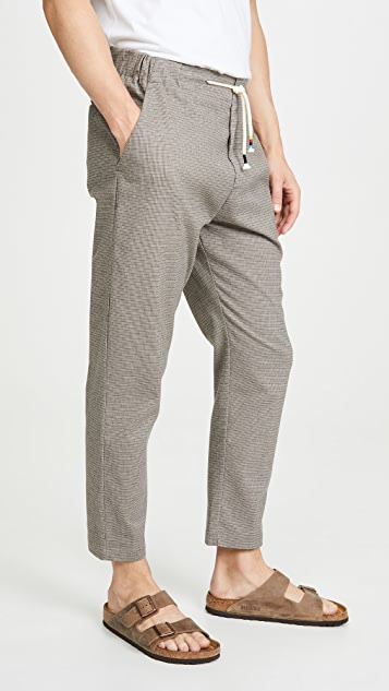The Silted Company Micro Plaid Coffin Trousers