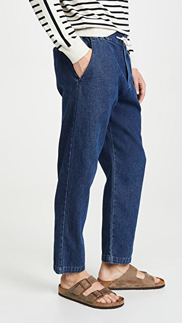 The Silted Company Denim Coffin Trousers