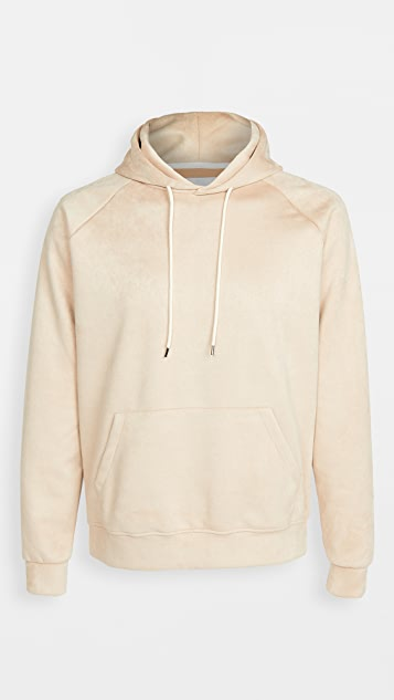 The Silted Company Eco Suede Tokyo Pullover Hoodie