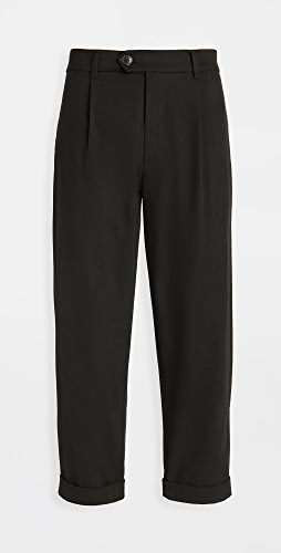 The Silted Company - Gabardine Pleated Dave Pants