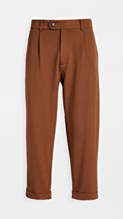 The Silted Company Twill Suiting Pleated Dave Pants