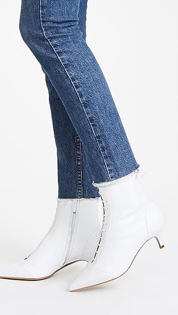 Tabitha Simmons Emmet Kitten Heel Booties