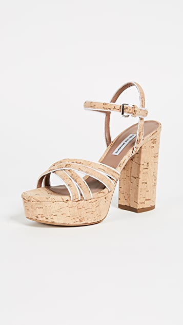 Tabitha Simmons Hensley Platform Sandal Pumps