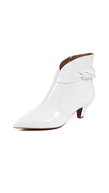 Tabitha Simmons Nixie Patent Booties