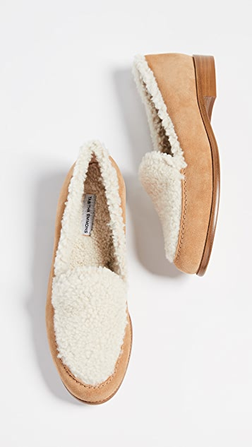 Tabitha Simmons Blakie Shearling Loafers