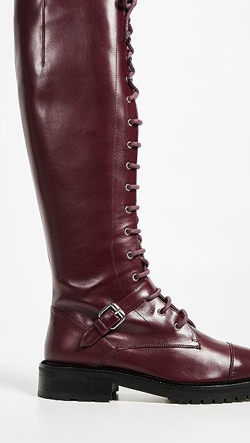Tabitha Simmons Высокие сапоги Alfri на шнуровке